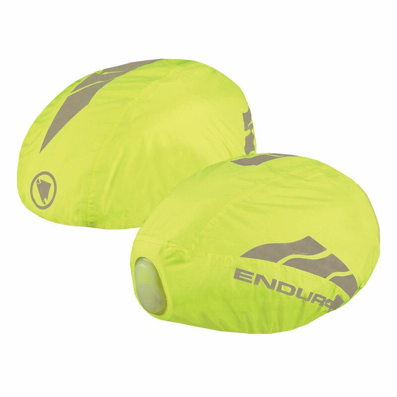 Endura potah na helmu LUMINITE helmet cover hi-viz yellow