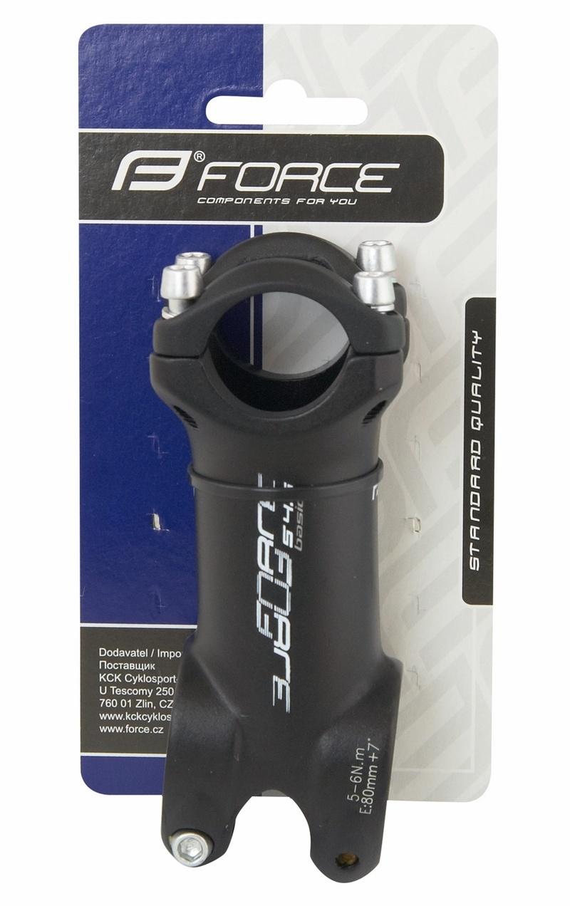 Force představec BASIC S4.6 25,4mm Al, černý