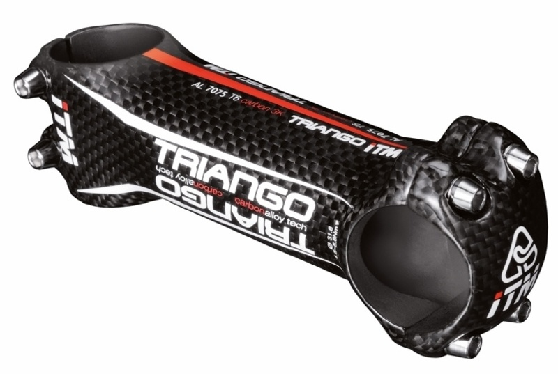 ITM představec R-TRIANGO 31,8mm/10st. Al/karbon, černý