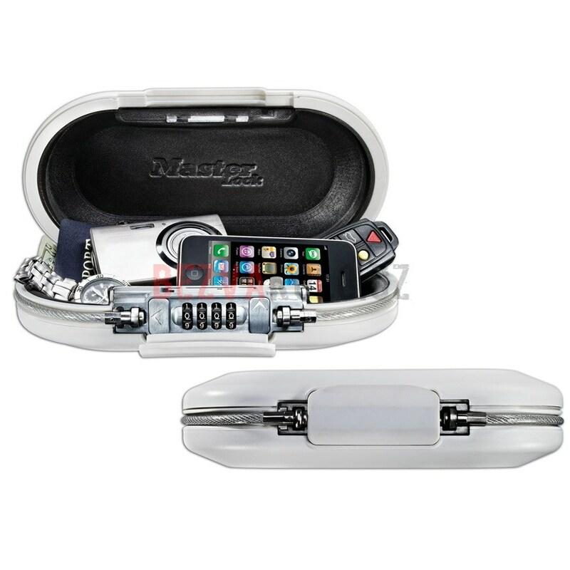 Master Lock přenosný bezpečnostní box na cennosti 5900DWHT