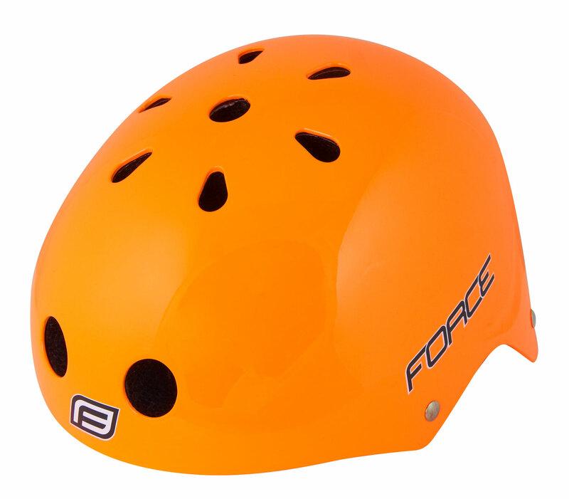 Force přilba BMX oranžová