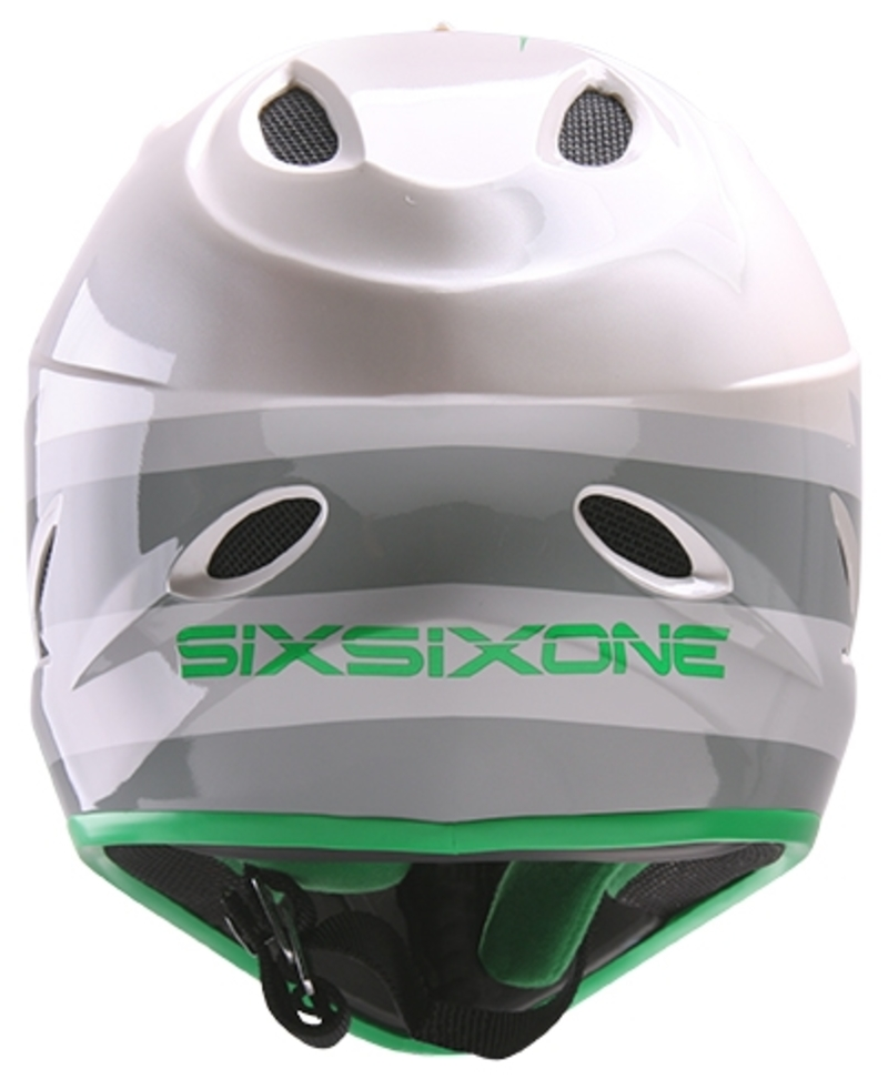 SixSixOne přilba Comp II bolt grey/green