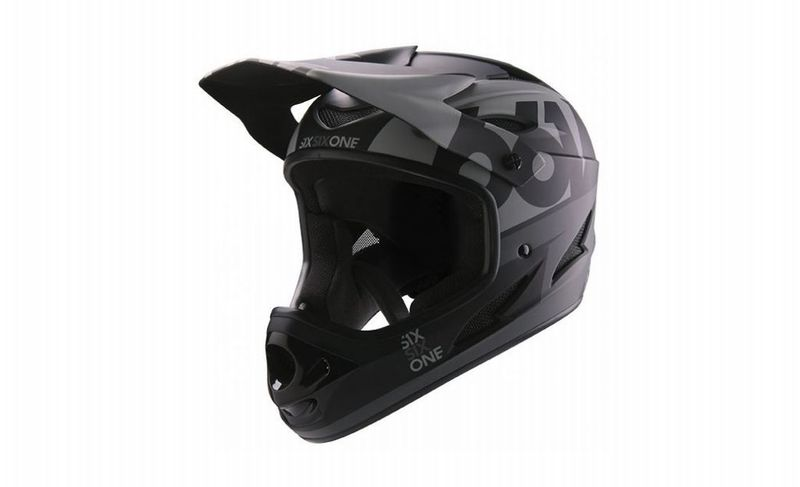 SixSixOne přilba Comp II matt black