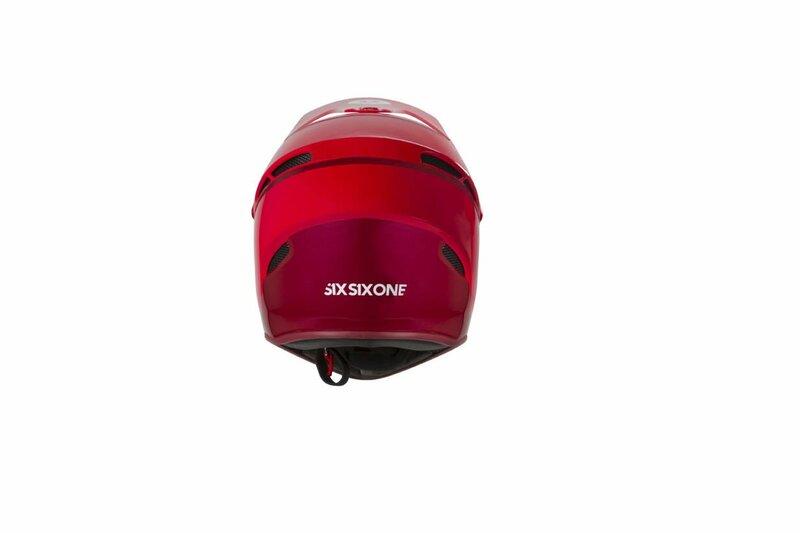 SixSixOne přilba RESET matador red