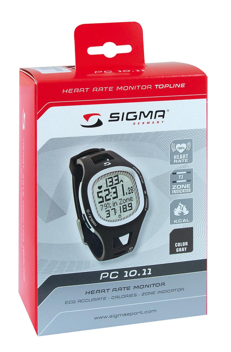 Sigma pulsmetr PC 10.11 modrý