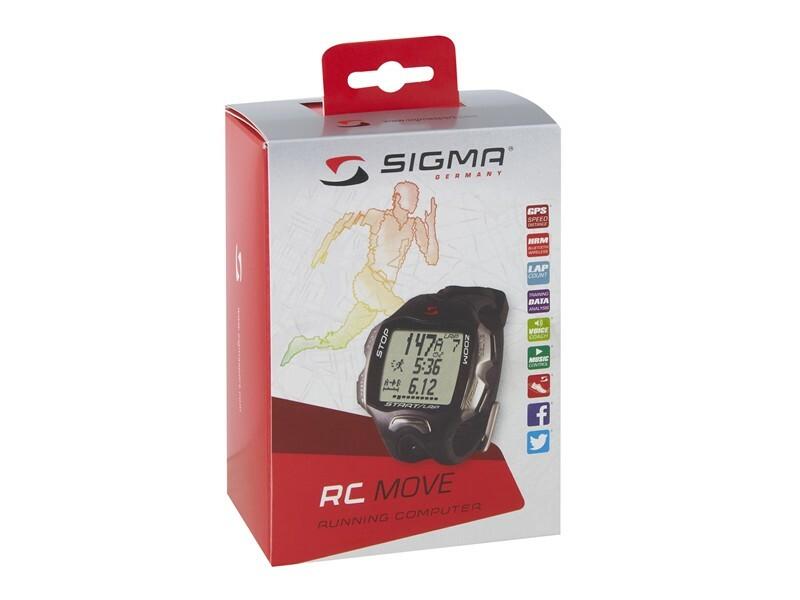 Sigma pulsmetr RC MOVE černý