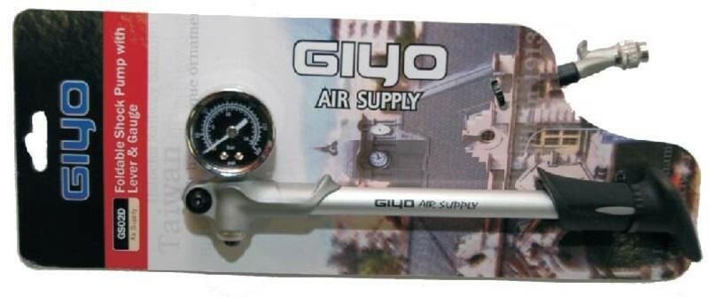 Giyo pumpa GS-02D na odpružené vidlice