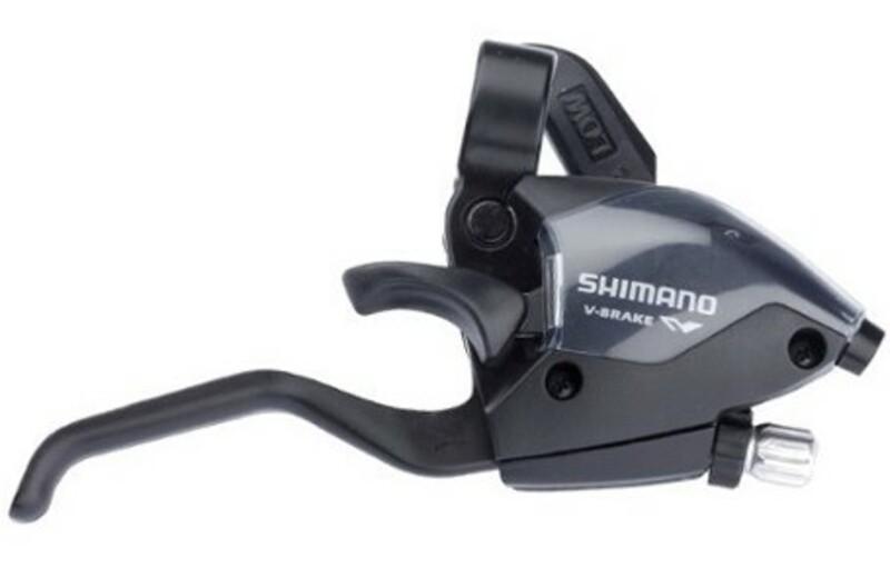 Shimano řadící a brzdová páka ST-EF51-7 pravá, 7sp.