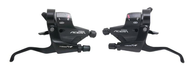 Shimano řadící a brzdové páky ACERA ST-M390, 3x9sp.