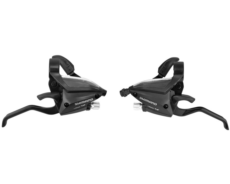 Shimano řadící a brzdové páky ST-EF500-8 černé, 3x8sp.
