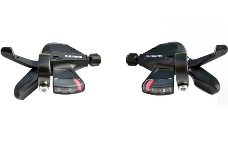 Shimano řadící páčky ALTUS SL-M310-8 černé, 3x8sp.