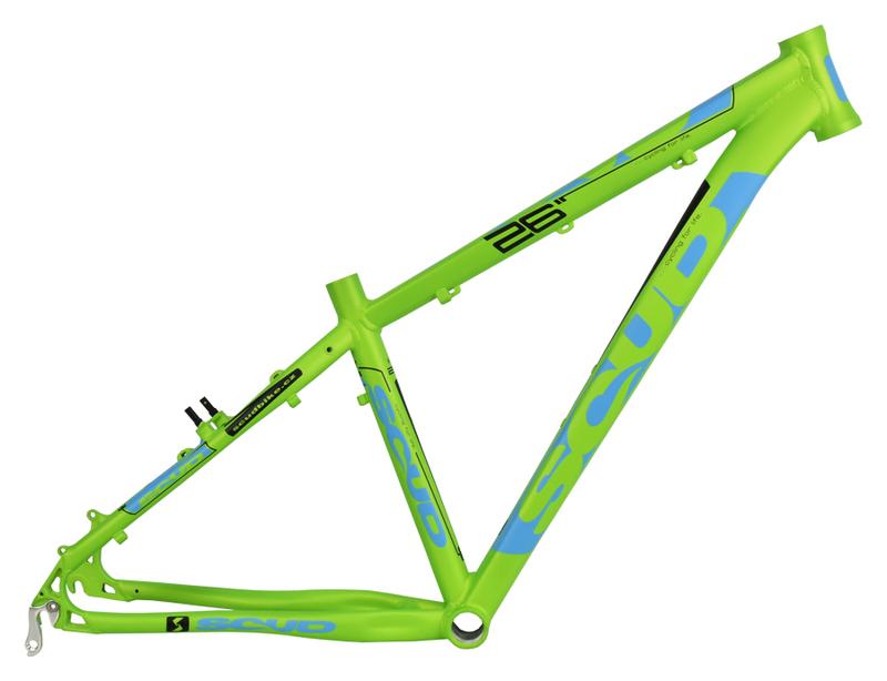MRX rám 26 7SC zeleno-modrý