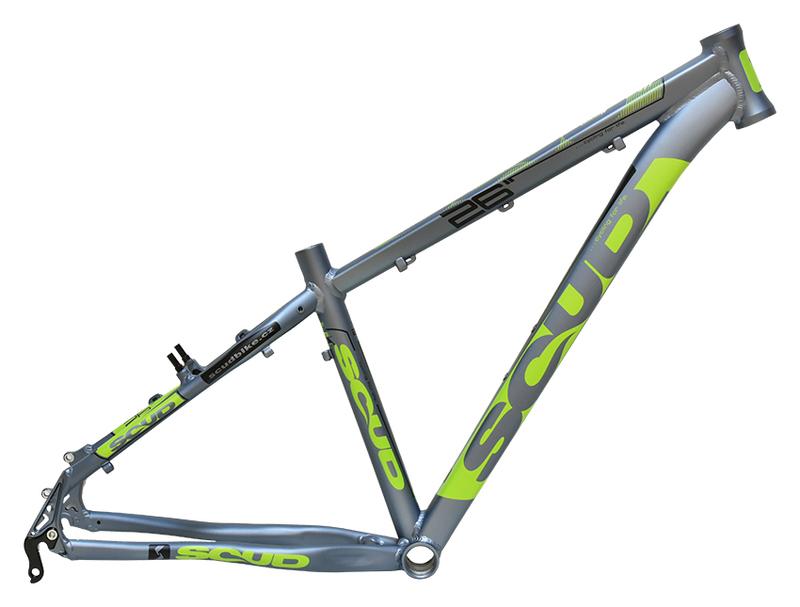 MRX rám 26 8SC šedo-zelený
