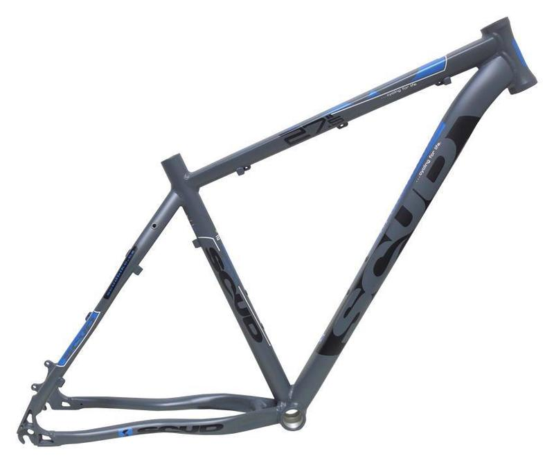Scud rám 27,5 5SC šedo-modrý