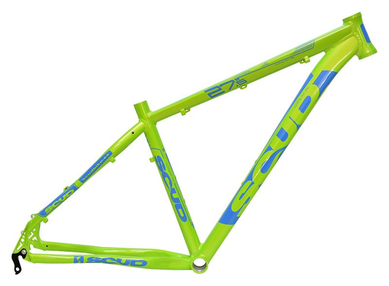 Scud rám 27,5 8SC zeleno-modrý
