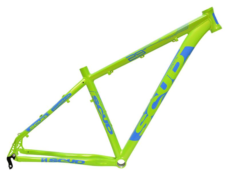 Scud rám 29 8SC zeleno-modrý