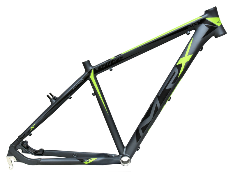 MRX Rám CROSS 28 Elite X7 šedo-zelený