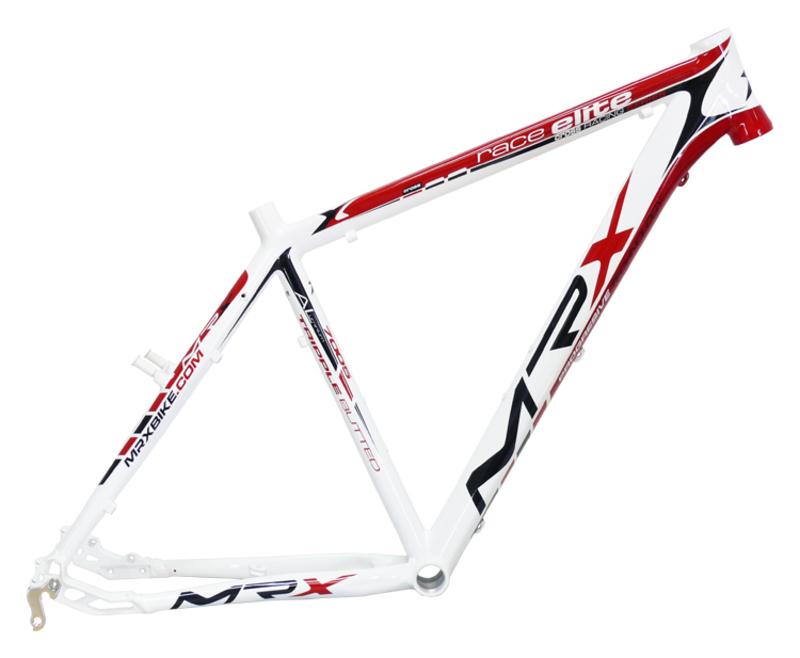 MRX Rám CROSS ELITE X5 bílo-červený