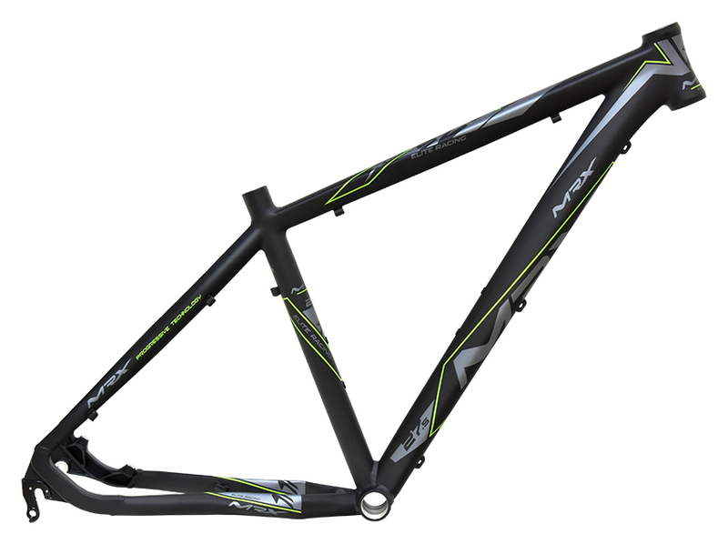 MRX Rám MTB 27.5 Elite X8 černo-zelený