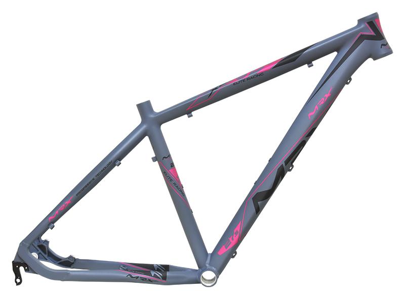 MRX Rám MTB 27.5 Elite X8 šedo-růžový