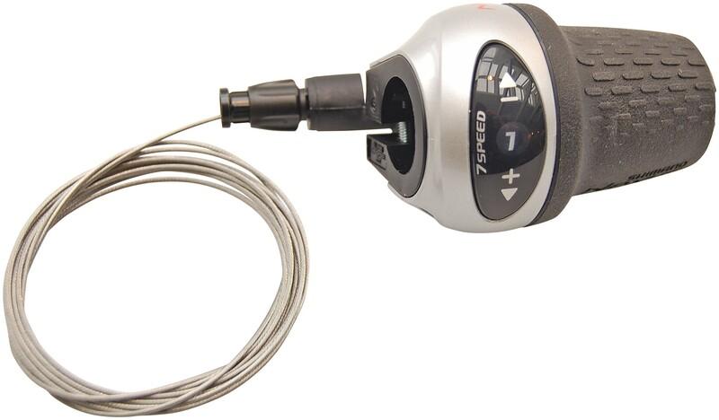 Shimano řazení NEXUS SL-7S31, 7sp. pravé, RevoShift, stříbrné