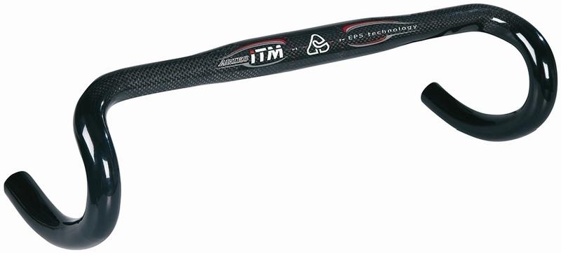ITM řídítka ARIES SL 31,8mm karbon, černá