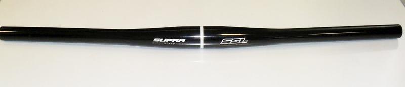 Bezvakolo řídítka SUPRA SSL 31.8/600mm, černá lesklá