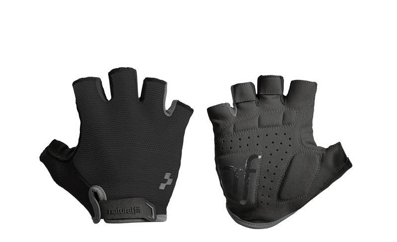 Cube rukavice CUBE Natural Fit Gloves, Blackline