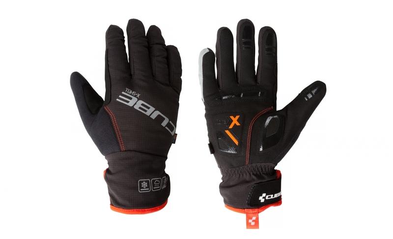 Cube zimní rukavice Natural Fit X-Shell long finger
