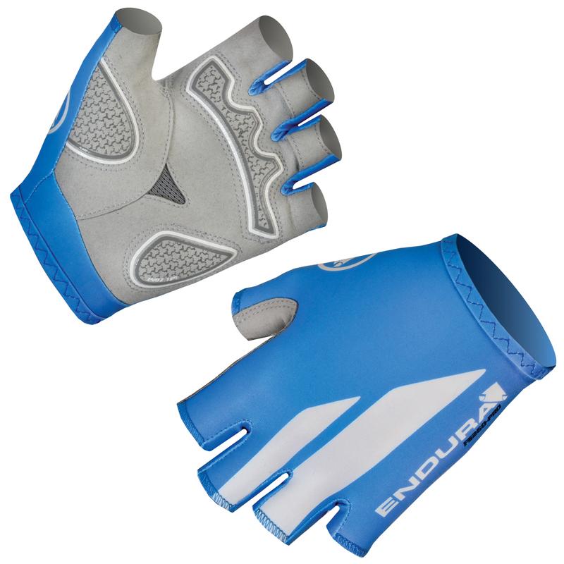 Endura rukavice FS260 PRO Print glove ocean blue