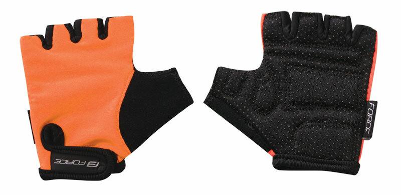 Force rukavice KID dětské oranžové polyester