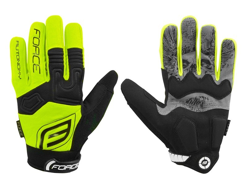 Force Rukavice MTB AUTONOMY fluo