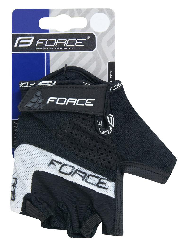 Force rukavice RAB gel černé