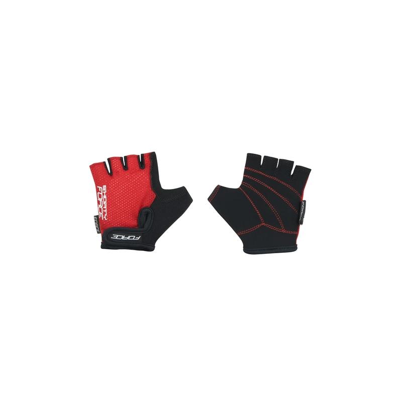 Force rukavice SHORTY dětské, červené