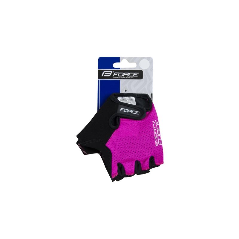 Force rukavice SHORTY dětské, růžové