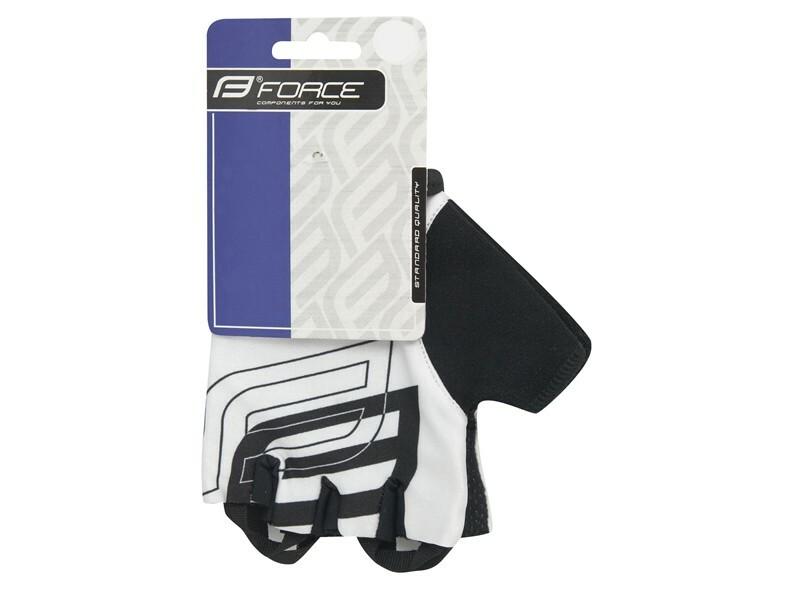 Force rukavice SPORT bílé