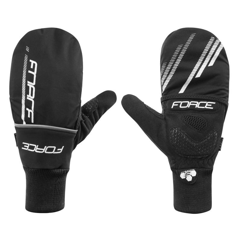 Force rukavice zimní COVER černé
