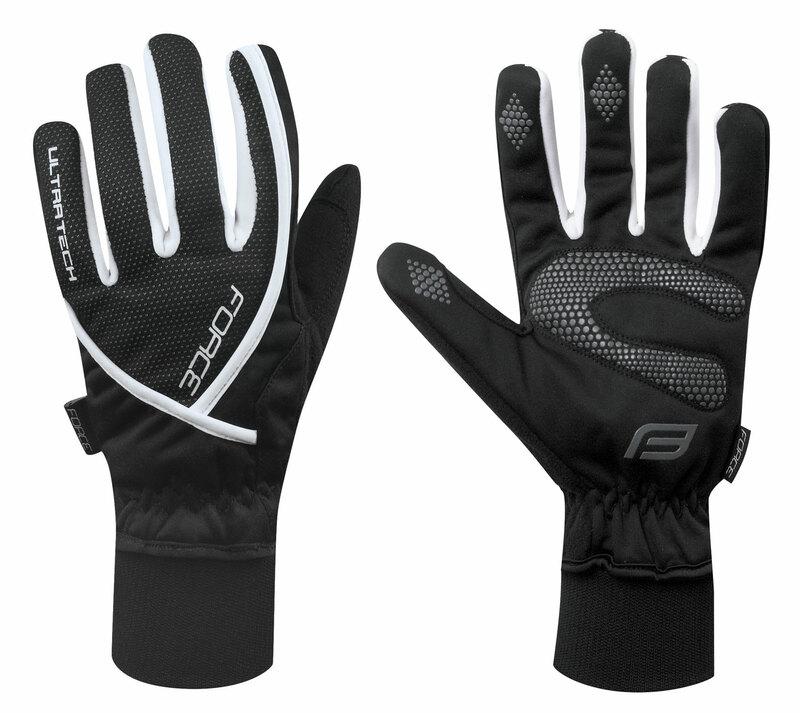 Force rukavice zimní ULTRA TECH černé