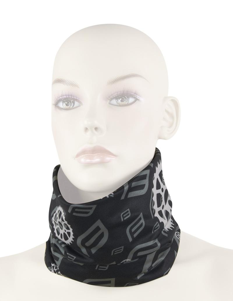 Force šátek multifunkční FORCE jaro/podzim, černý, UNI