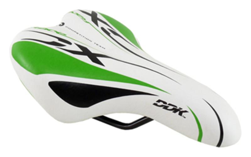 DDK sedlo D1217A dětské, bílo-zelené
