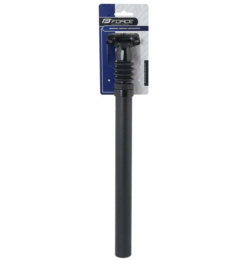 Force sedlovka BASIC P8.2 odpružená, 27,2/350/40mm, matná černá