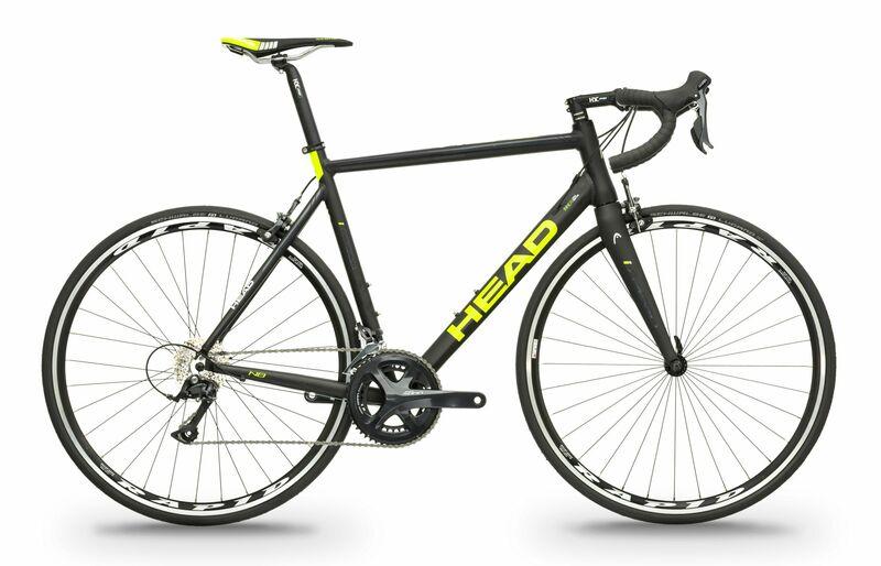 Head silniční kolo I-SPEED I černá matná / žlutá