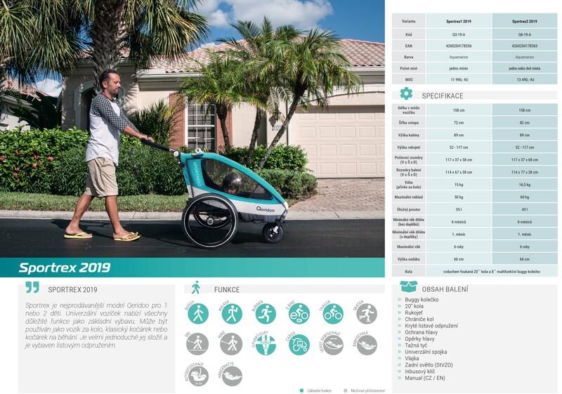 Qeridoo vozík Sportrex2