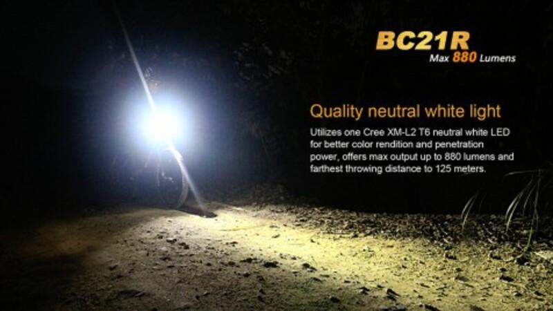 Fenix světlo nabíjecí Fenix BC21R