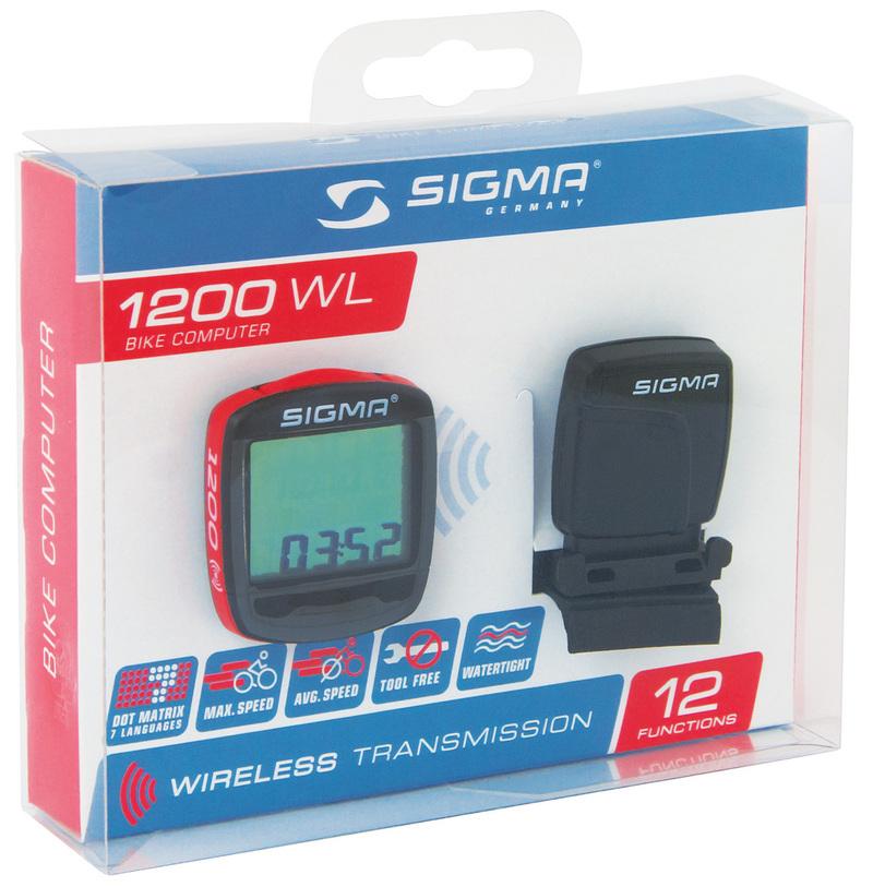 Sigma tachometr BASELINE 1200 wireless