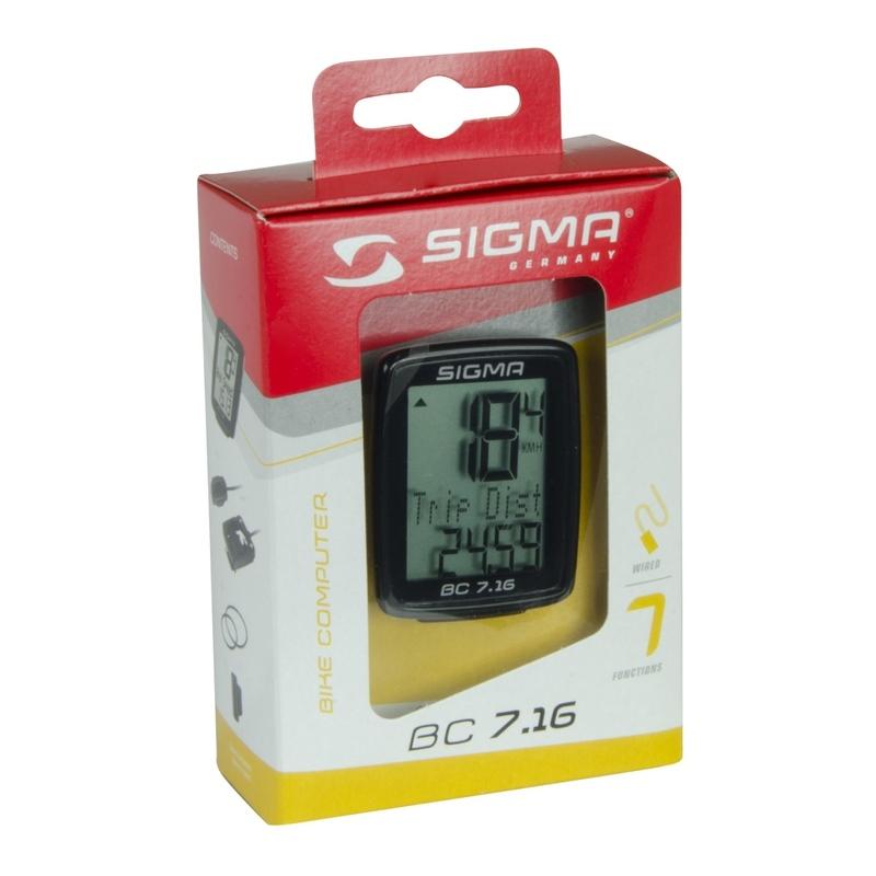 Sigma tachometr BC 7.16