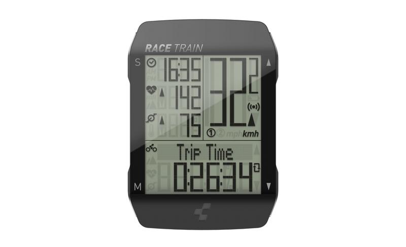 Cube tachometr CUBE RACE TRAIN
