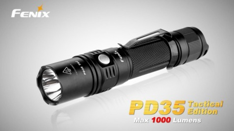 Fenix Taktická LED svítilna Fenix PD35 TAC
