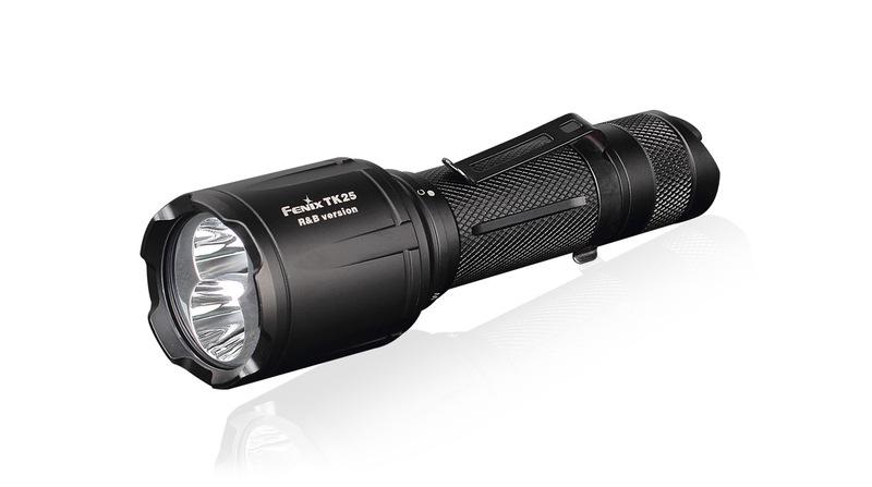 Fenix taktická LED svítilna TK25 R&B