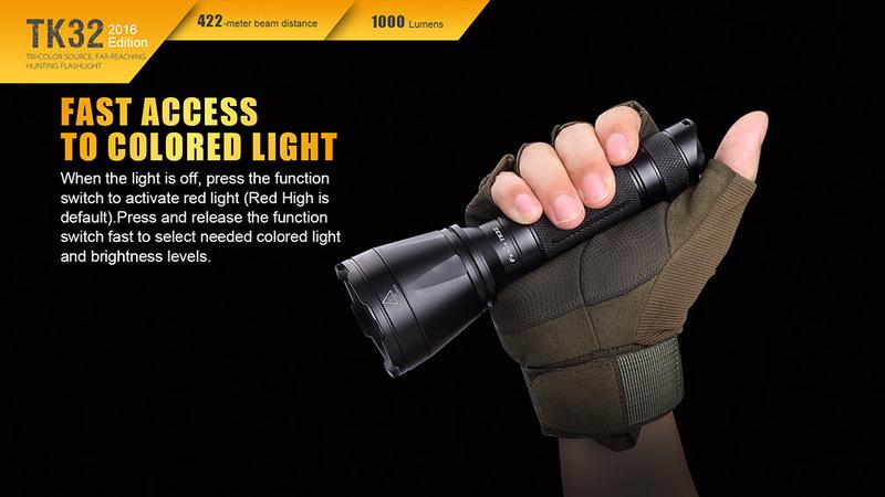 Fenix Taktická LED svítilna Fenix TK32 XP-L